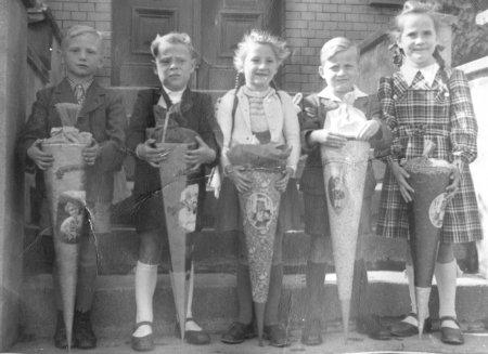 Schulanfang 1952