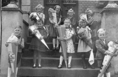 Schulanfang 1953