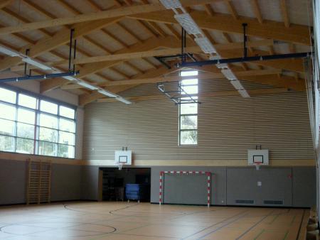 Schulturnhalle Barbarahalle innen