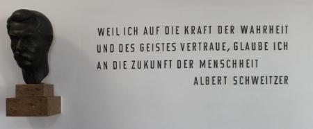 Albert Schweitzer - ein weiser Mann