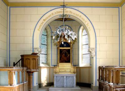 Sergener Dorfkapelle, Altar.jpg