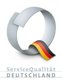 Logo Service-Qualität Deutschland
