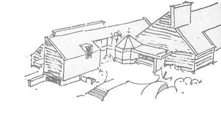 Skizze Kapelle