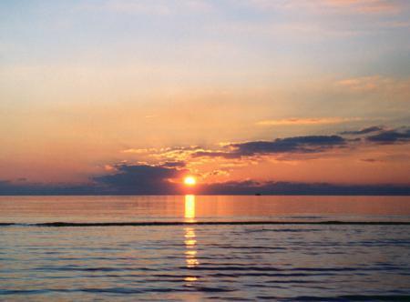 Sonnenuntergang Hospizkreis Ganderkesee