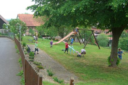 Spielplatz in Oberthalhausen