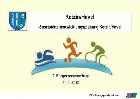 Sportstättenentwicklung I