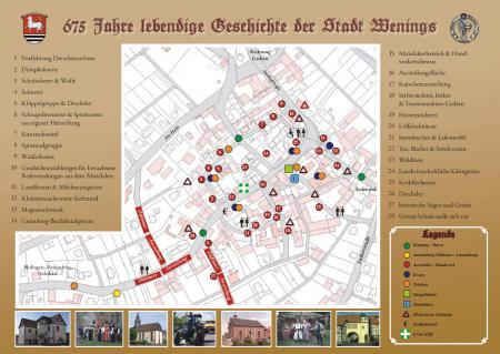 Stadtplan Stehender Festzug