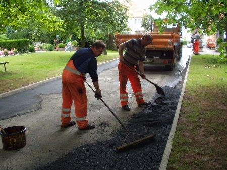 Straßenunterhaltung