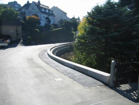 Stützmauer, Tettau