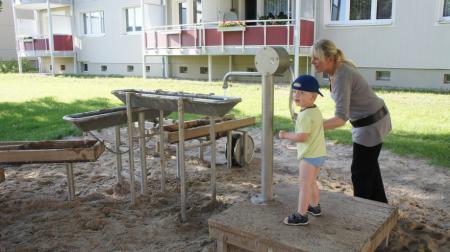 Wasserspielplatz Röbeler Vorstadt