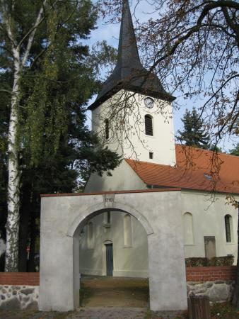 Torbogen Kirche Fredersdorf