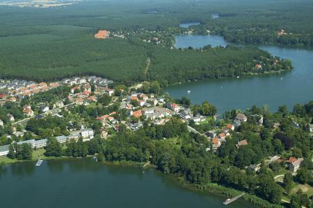 Luftbild Seen in Grünheide (Mark)
