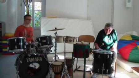 """Trommelgruppe """"Lachender Mond"""""""