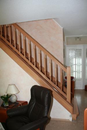Treppe mit Empieregeländer