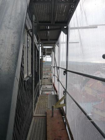 Über den Dächern von Eisfeld. Schloss Eisfeld. 15.1.2014.jpg
