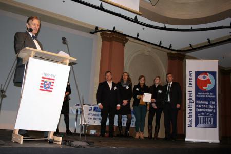 Auszeichnung Gemeinde Alheim