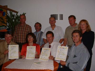 Vertragsabschluss mit der Gemeinde Boewingen/Attert