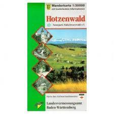 Wanderkarte Hotzenwald
