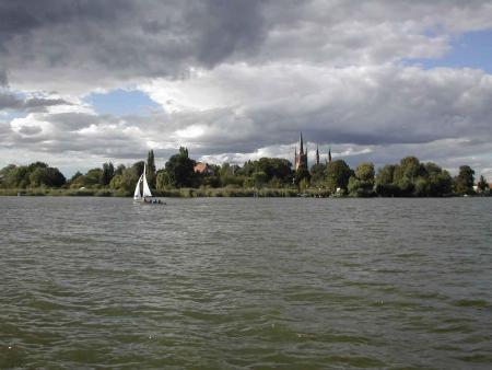 Blick auf Werder an der Havel