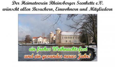 Heimatverein Rheinsberger Seenkette e.V. - Weihnachtswünsche