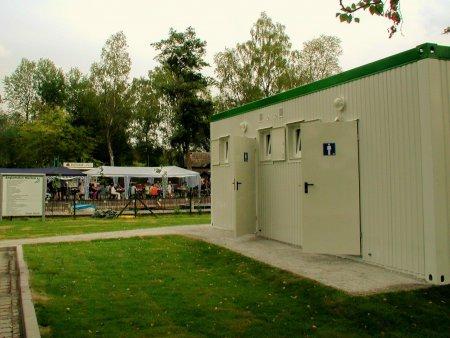 Wasseerwanderastplatz Marlow - Sanitärgebäude
