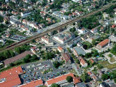 Innenstadtbereich - Bahnhof Falkensee