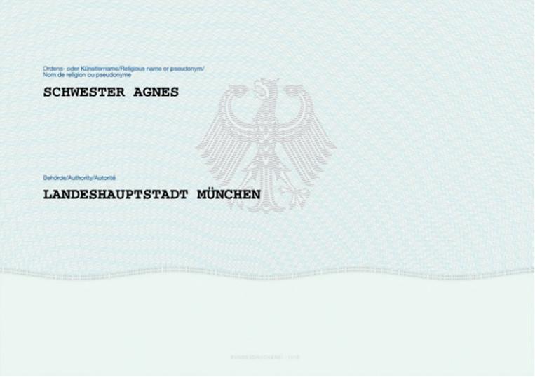 Muster vorläufiger Personalausweis Rückseite (Foto: Stadtverwaltung Treuenbrietzen)