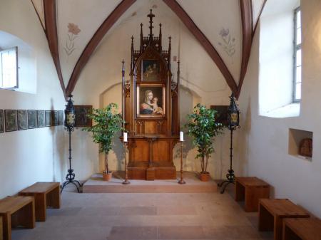 Schlosskapelle Homburg Innenansicht
