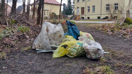Müll-Aufräumaktion Hangelsberg