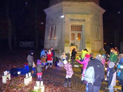 Lichterfest am Hörturm_ Foto: Marcus Pfeiffer