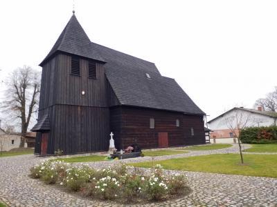"Bild 03: Holzkirche ""Heilige Simon u. Judas Thaddäus"", Kosieczyn"