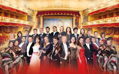"""Ensemble """"Zauber der Operette"""", Foto: Ronny Küttner"""