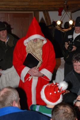 Der Nikolaus kommt auch!