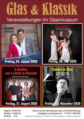 Glas & Klassik Veranstaltungen 2020