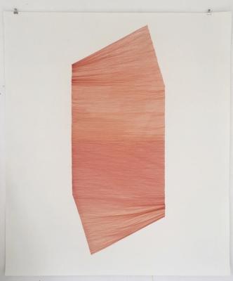Annie Krüger, Zeichenserie //NOOK, nook IV, 2020, 125 x 140 cm, Inkpen auf Hahnemühlepapier