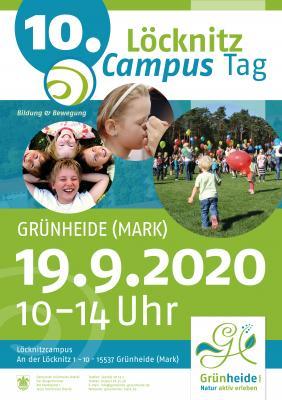 Plakat 10. Löcknitzcampustag