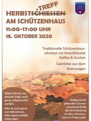 Herbsttreff am Schützenhaus