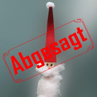 Weihnachtsbasteln abgesagt