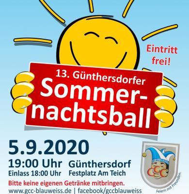 Günthersdorfer Sommernachtsball 2020