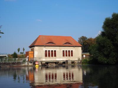 Das Pumpenhaus bei einem der letzten Tages des offenen Denkmals, Foto: S. Weber
