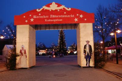 Adventsmarkt in der Barockstadt Ludwigslust
