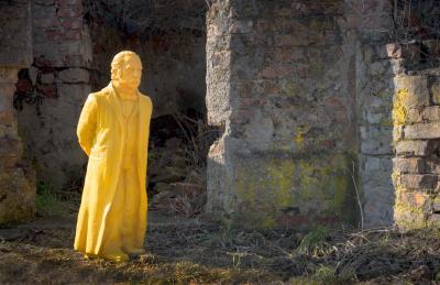 Theodor Fontane in Küstrin, Foto: Stefan Hessheimer - ©Tourist-Information Kostrzyn
