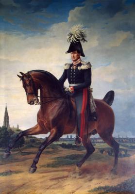 Reiterporträt Friedrich Wilhelms III. von Franz Krüger (wikipedia)