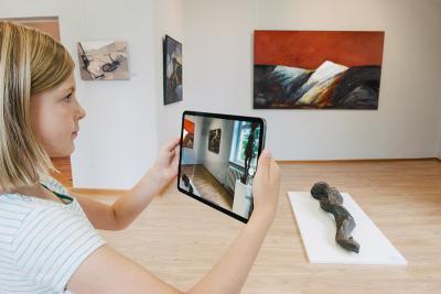 Virtueller Ausstellungsbesuch Foto: BASF/ Rasche