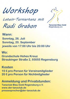 Lateinworkshop mit Rudi Grabon