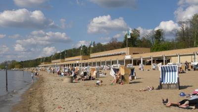 Strandbad Wannsee, Foto: Axel Mauruszat