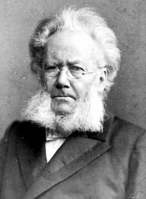 Henrik Ibsen, Foto: Julius Cornelius Schaarwächter