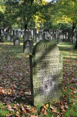 Jüdischer Friedhof Potsdam, Foto: Regine Ruess