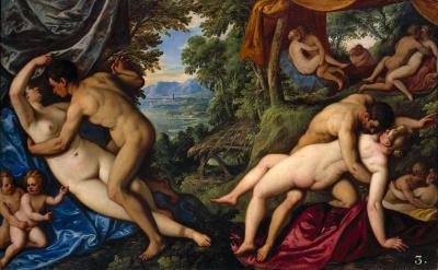 """Paolo Fiammingo, """"Il frutto dell'amore"""" 1585/89, © KHM-Museumsverband"""