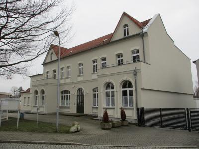 das 2019 komplett sanierte Kulturhaus in Hörlitz